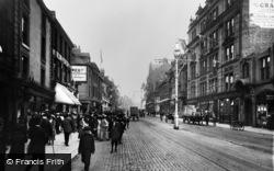 Newcastle Upon Tyne, Northumberland Street 1911