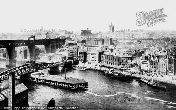 Photo of Newcastle Upon Tyne, Quayside 1896, ref. N16320