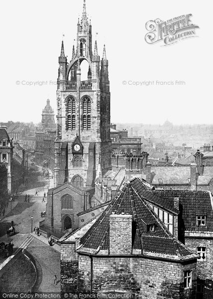 Photo of Newcastle Upon Tyne, St Nicholas's Cathedral 1888, ref. 21036