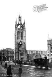 Newcastle Upon Tyne, St Nicholas's Cathedral 1891