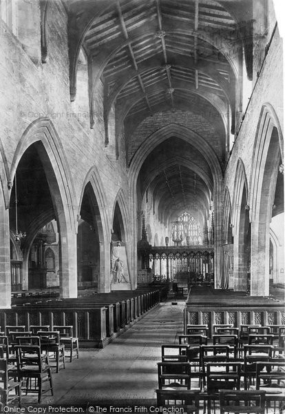 Photo of Newcastle Upon Tyne, St Nicholas' Cathedral interior 1891, ref. 29257