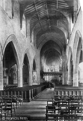 Newcastle Upon Tyne, St Nicholas's Cathedral, Interior 1891