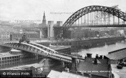 Newcastle Upon Tyne, The Bridge c.1955