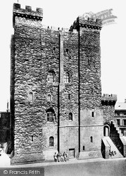 Newcastle Upon Tyne, The Castle c.1900