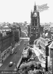 Newcastle Upon Tyne, The Cathedral c.1960