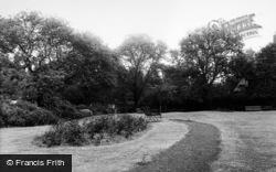 Newcastle Upon Tyne, The Gardens, Moorfield, Grange Park c.1955