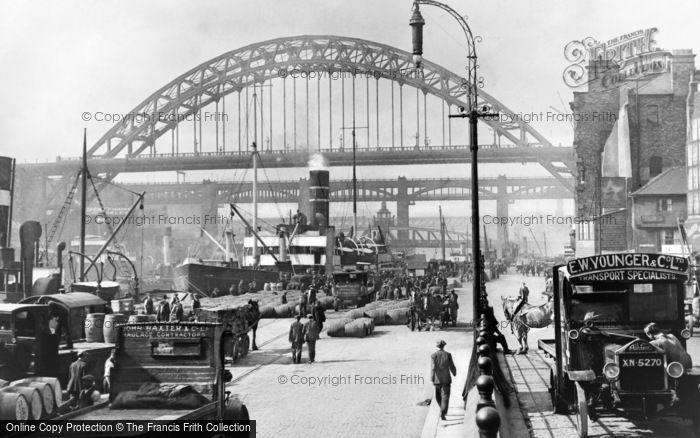 Photo of Newcastle Upon Tyne, The Quayside 1928
