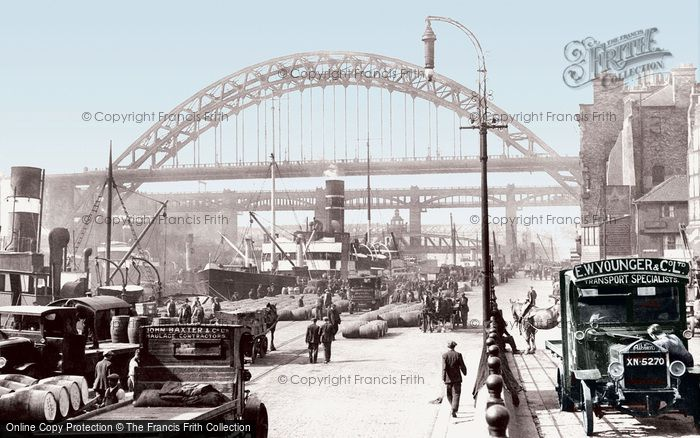 Photo of Newcastle upon Tyne, the Quayside 1928