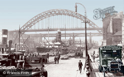 Newcastle Upon Tyne, The Quayside 1928