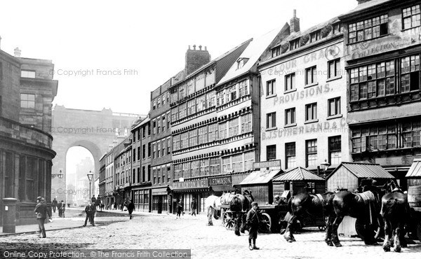 Photo of Newcastle Upon Tyne, the Sandhill 1894, ref. N16319