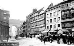 Newcastle Upon Tyne, The Sandhill 1894