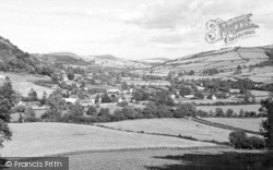 Village And Clun Valley c.1960, Newcastle