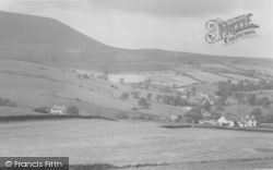 Newchurch In Pendle, Pendle Hill c.1955