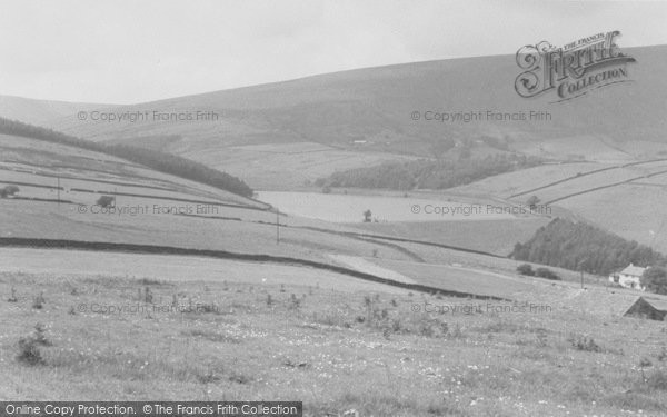 Photo of Newchurch In Pendle, Pendle Hill c.1955