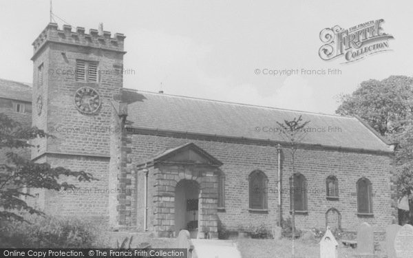 Photo of Newchurch In Pendle, St Mary's Church c.1960
