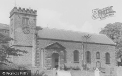Newchurch In Pendle, St Mary's Church c.1960