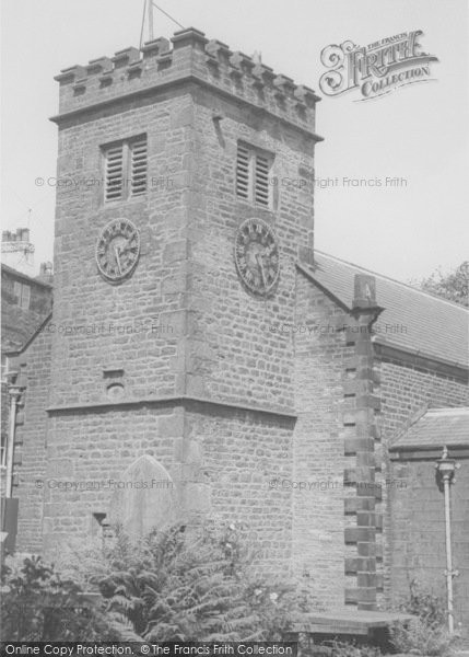 Photo of Newchurch In Pendle, The Church Showing The 'eye Of God' c.1960