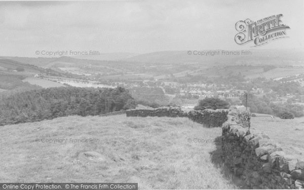 Photo of Newchurch In Pendle, The Pendle Valley c.1955