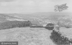 Newchurch In Pendle, The Pendle Valley c.1955