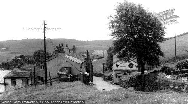 Photo of Newchurch In Pendle, The Village c.1955