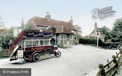 A Bus By The Six Bells 1924, Newdigate