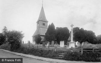 Newdigate, St Peter's Church and War Memorial 1924