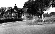 Newent, An Old Cottage c.1955