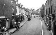 Photo of Broad Street c1955, Newent