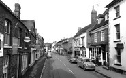 Photo of Church Street c1965, Newent