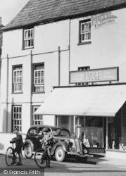Newent, J.Gore Grocery, Broad Street c.1955