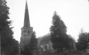 Newent, St Mary's Church c.1955