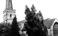 Photo of St Marys Church c1955, Newent