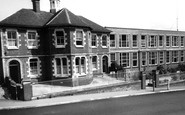 Photo of The Grammar School c1965, Newent