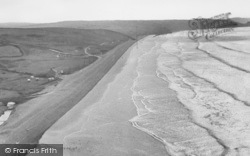 Newgale, From The Cliffs c.1955
