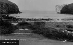 Newgale, Nolton Bay c.1955