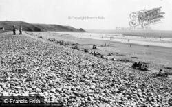 Newgale, The Beach c.1960