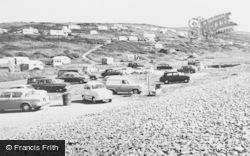 Newgale, The Caravan Site c.1960