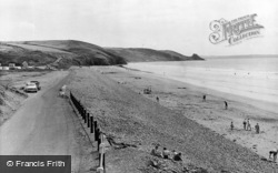 Newgale, The Old Welsh Road c.1960