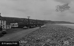 Newgale, The Pebbles c.1960