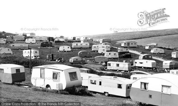 Photo of Newhaven, A Caravan Site c.1960