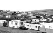 Newhaven, a Caravan Site c1960