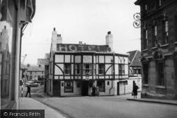 Newhaven, Bridge Hotel Corner c.1950
