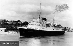 Newhaven, Cross Channel Steamer S.S.Brighton c.1960