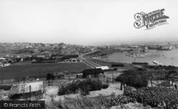 Newhaven, General View c.1960