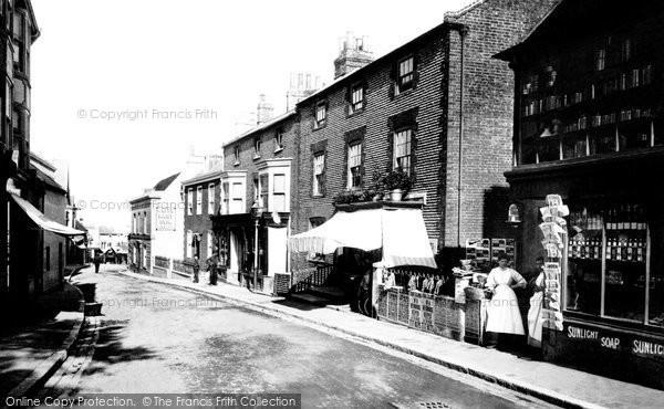 Newhaven, High Street 1890