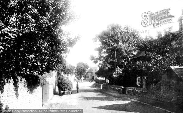 Photo of Newhaven, Lewes Road 1890