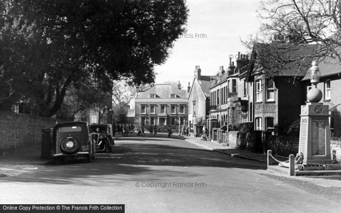 Photo of Newhaven, Meeching Road c.1950