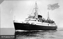 S S Brighton c.1950, Newhaven
