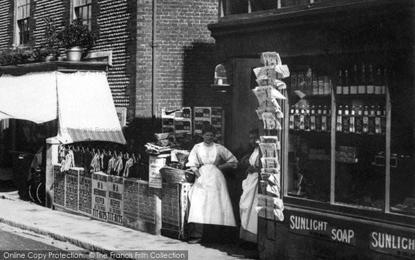 Newhaven, Shop, High Street 1890