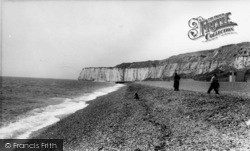 Newhaven, The Beach c.1960